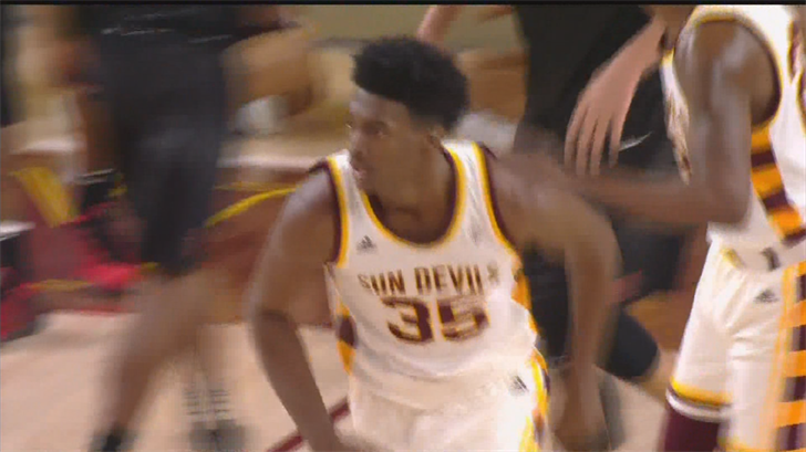 The forward is averaging 12.7 ppg and 8.3 rpg while leading ASU in blocked shots with six. (Source: 3TV/CBS 5)