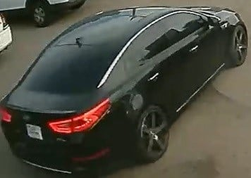Police are searching for two suspects who they say left the scene of a shooting in this vehicle. (Source: Phoenix Police Department)
