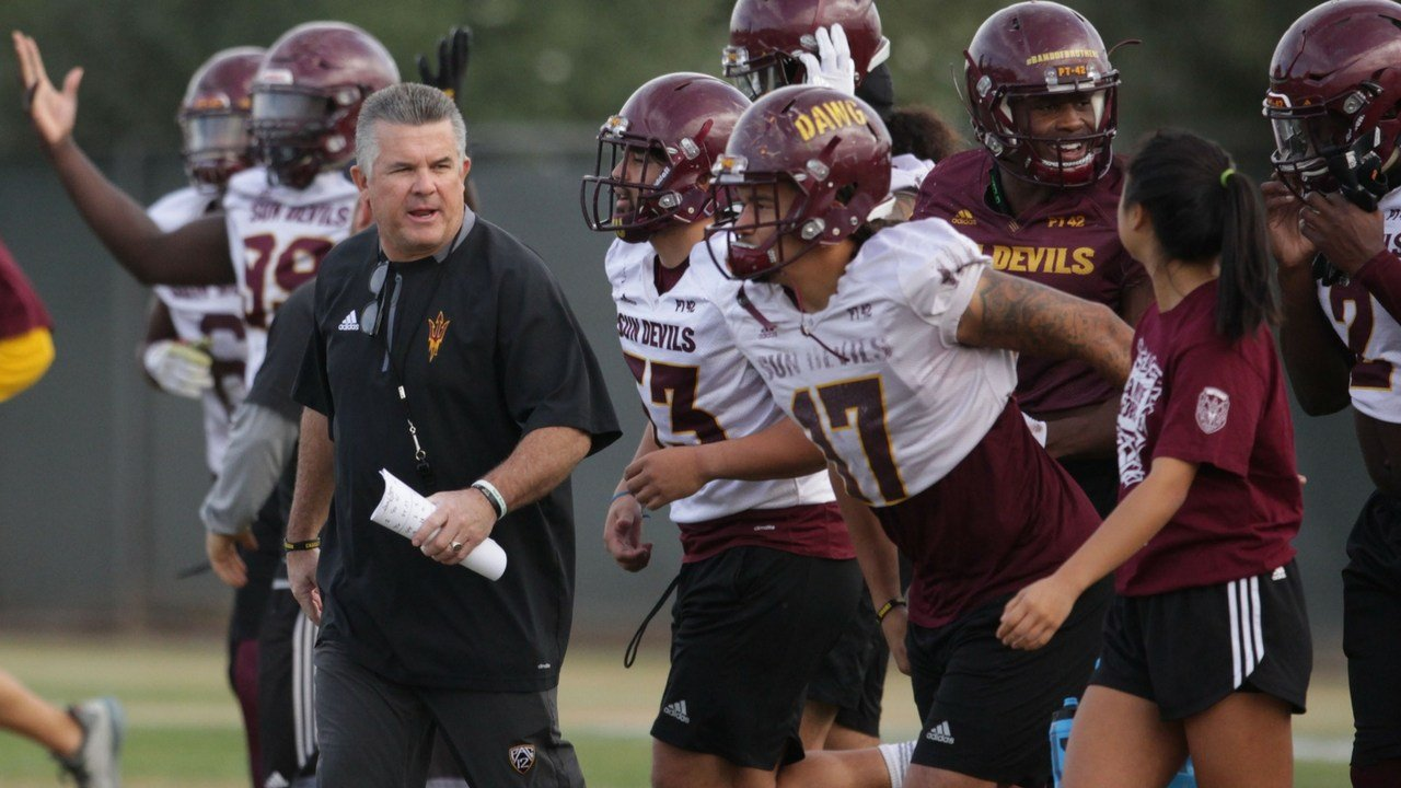 ASU football coach Todd Graham has begun preparations for the Sun Devils' bowl game. (Photo by Jamie Nish/ Cronkite News)