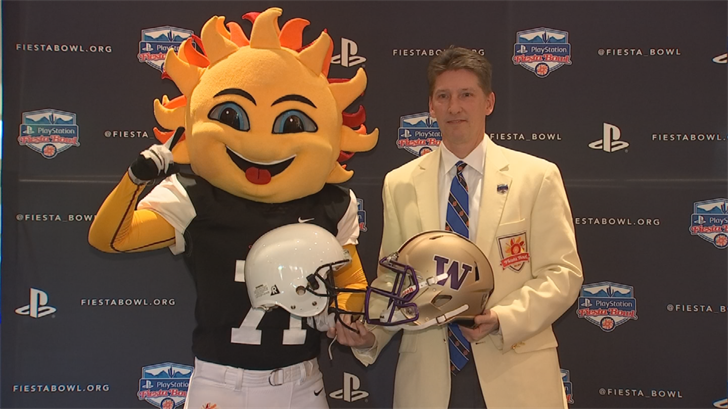 Penn State will face Washington in this year's Fiesta Bowl. (Source: 3TV/CBS 5)