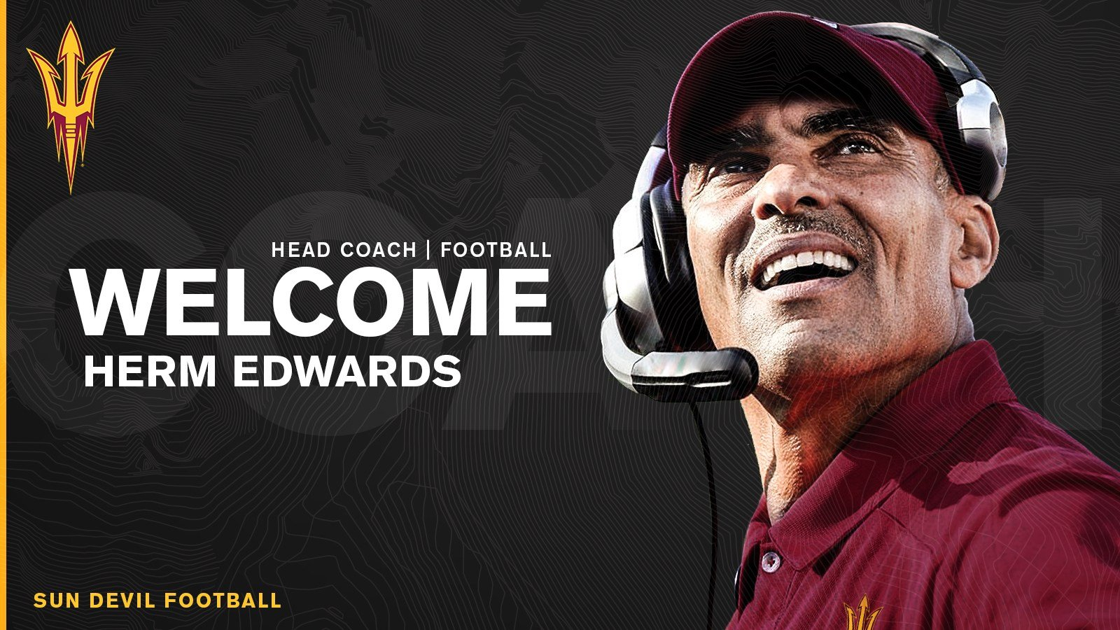 Arizona State hires Herm Edwards as head football coach