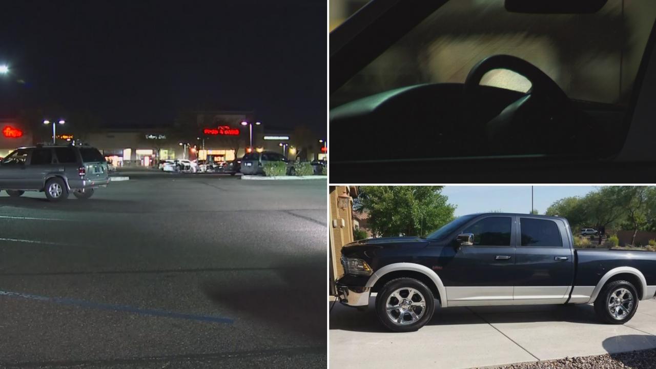 Janyt had her purse stolen in a Fry's parking lot and the thieves used the keys to steal Richard's truck. (Source: 3TV/CBS 5)