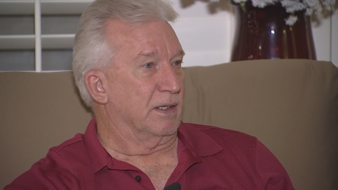 Richard was home at the time and he believes that's why the thieves didn't come into the home but they simply got in the truck and took off. (Source: 3TV/CBS 5)