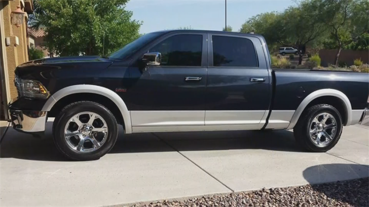 The Ram four-door pickup truck did have some distinct features. (Source: 3TV/CBS 5)
