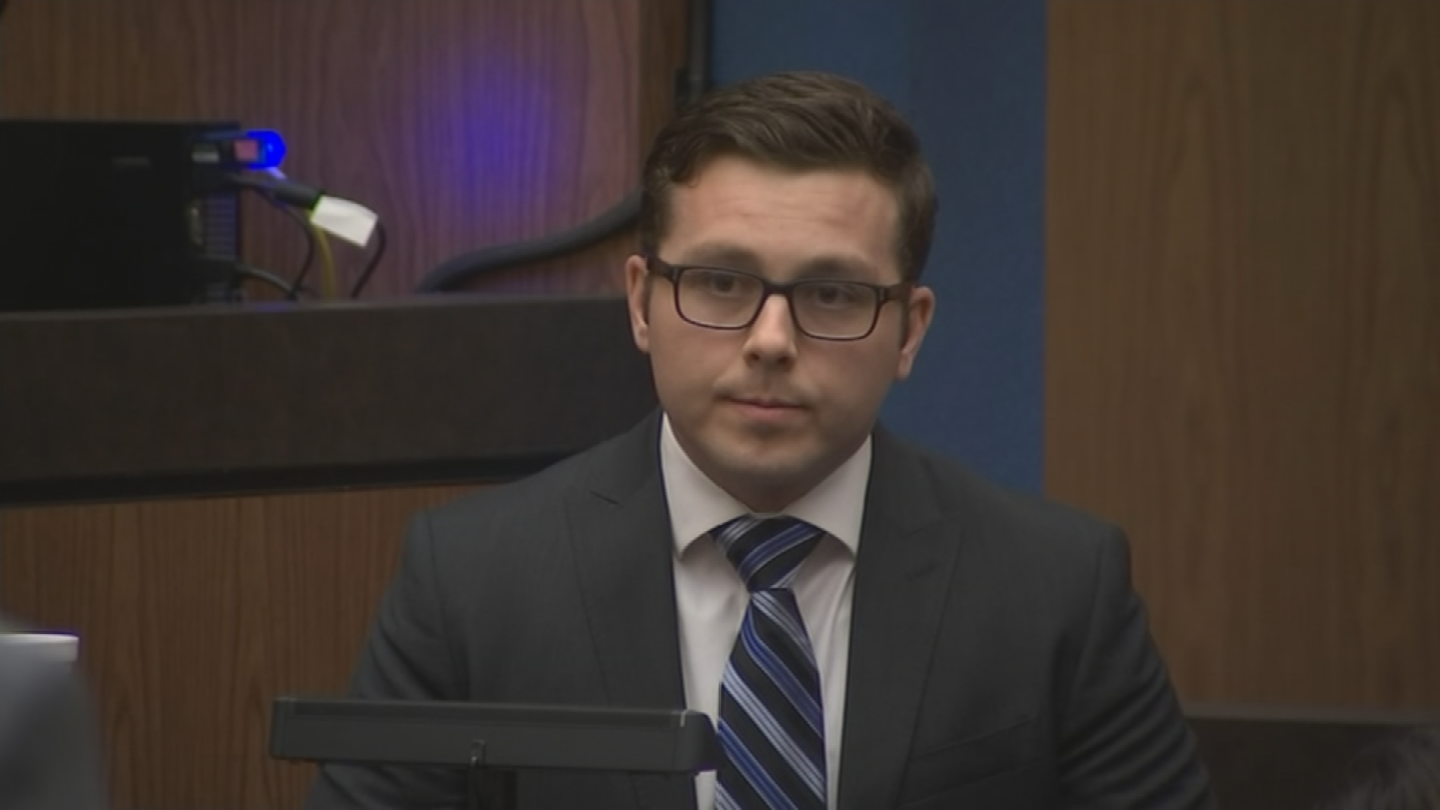 "Ex-Mesa cop Philip ""Mitch"" Brailsford was charged in the on-duty shooting death of Daniel Shaver at the La Quinta Inn. (Source: 3TV/CBS 5)"