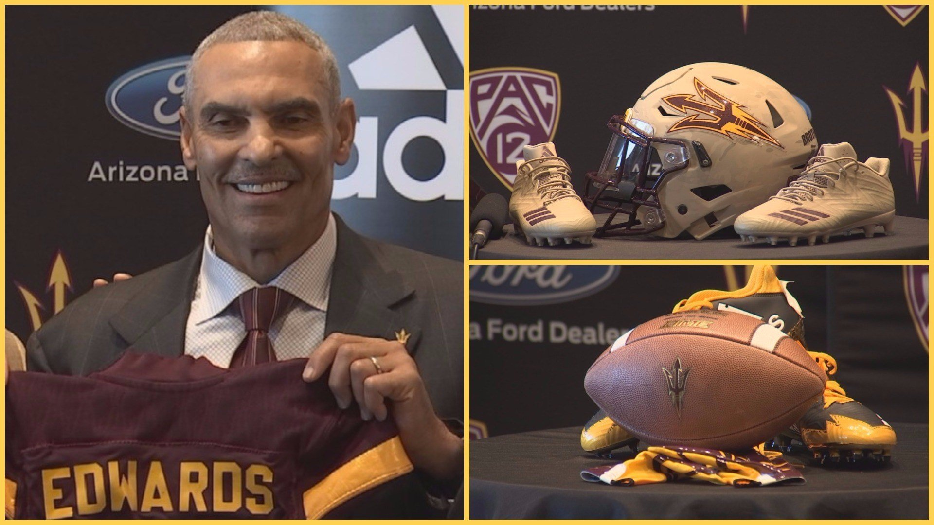 Herm Edwards may not know Arizona State's mascot is a Sun Devil