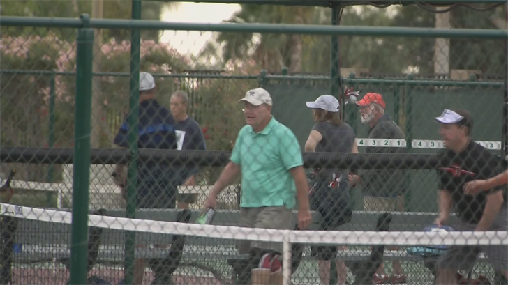 The ARC wants to install lights on its four pickleball courts. (Source: 3TV/CBS 5)