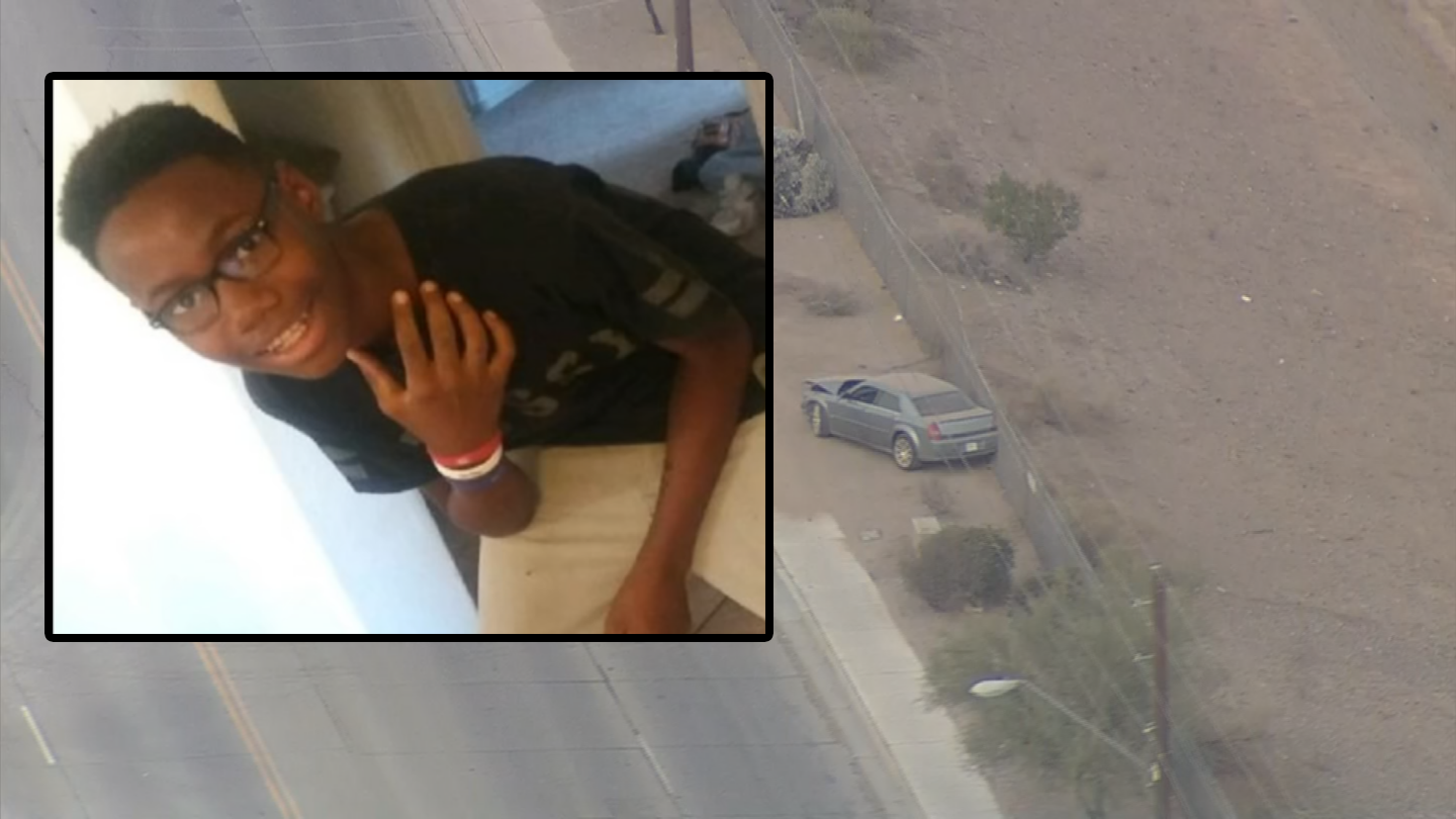 Cordell Gooch, 13, was killed when he was hit by a car driver in south Phoenix. (Source: 3TV/CBS 5)