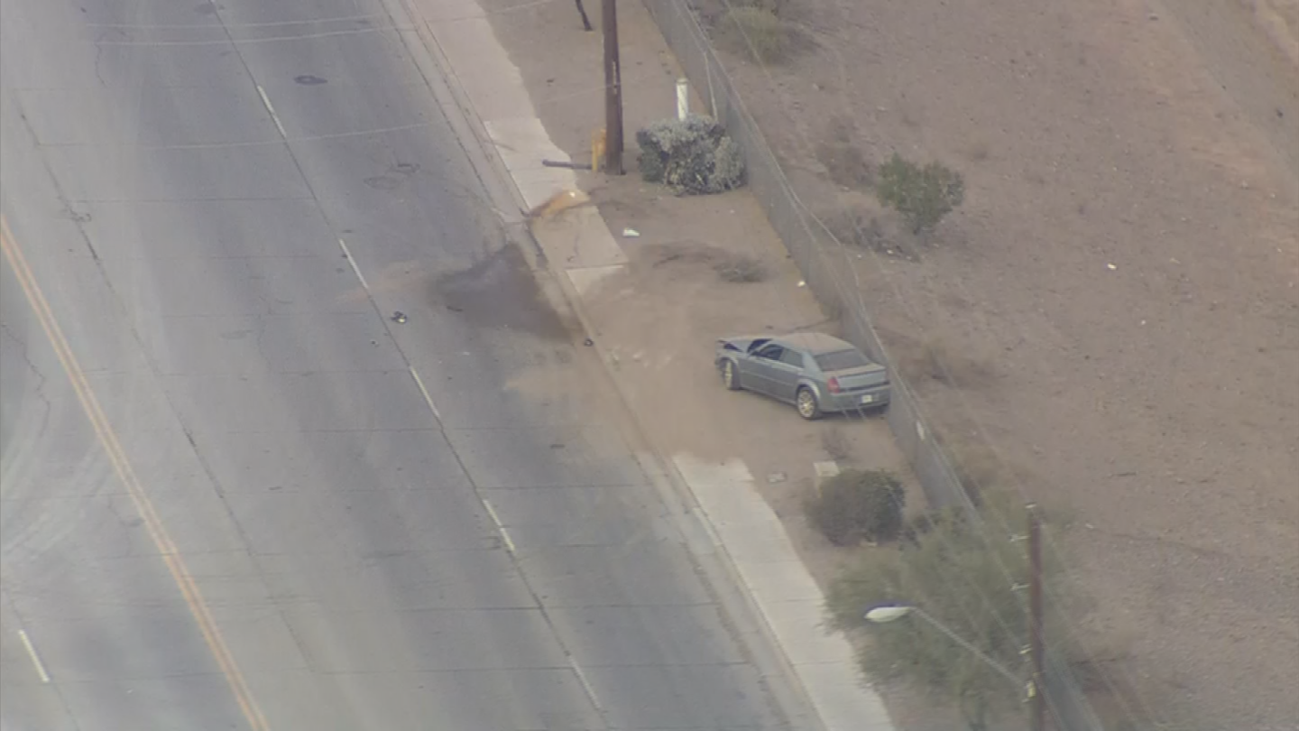Police say the driver is a 17-year-old boy who they believe may have been under the influence. (Source: 3TV/CBS 5)