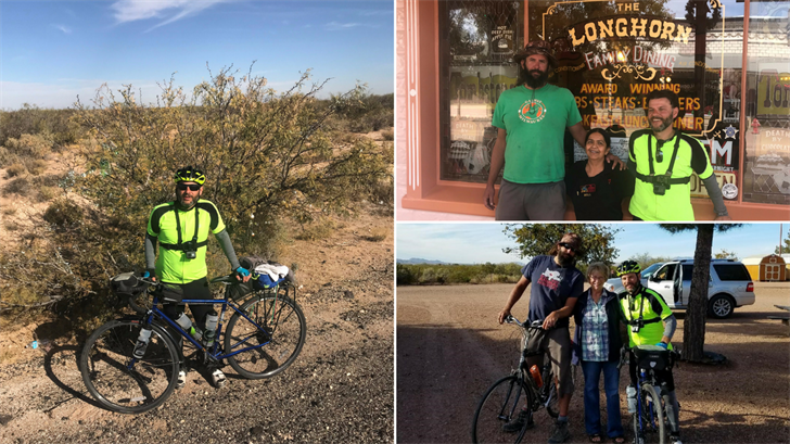 Tony Bronzell is riding across America to raise money for St. Jude's. (Source: Tony Bronzell)