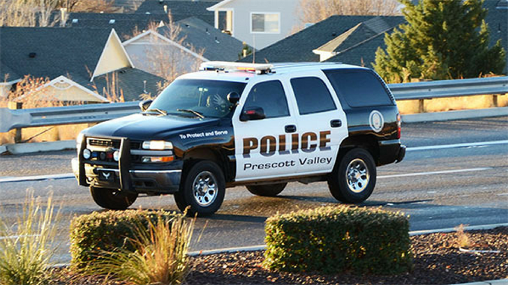 File photo of a Prescott Valley Police Department vehicle. (Source: Prescott Valley Police Department)