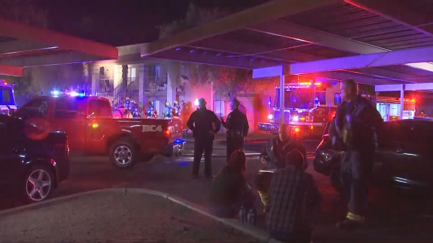 No firefighters or civilians were injured in the fire. (Source: 3TV/CBS 5)