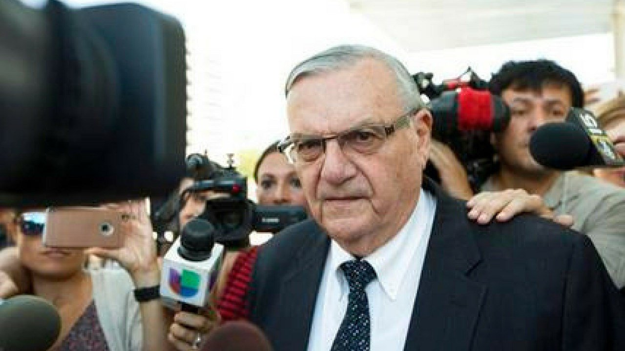 rizona jurors who will decide a malicious-prosecution trial against Arpaio were told Tuesday, Dec. 5, 2017, that one of Sen. Jeff Flake's sons suffered from depression as a result of a now-dismissed animal cruelty case.(Source: AP Photo/Angie Wang, File)