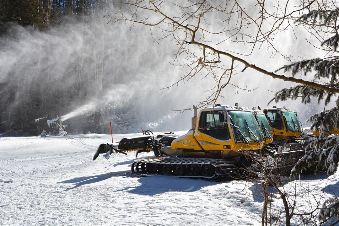 Snowbowl is using man-made snow for the terrain. (Source: Arizona Snowbowl)