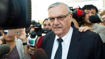 Arizona jurors who will decide a malicious-prosecution trial against Arpaio were told Tuesday, Dec. 5, 2017, that one of Sen. Jeff Flake's sons suffered from depression as a result of a now-dismissed animal cruelty case.(Source: AP Photo/Angie Wang, File)