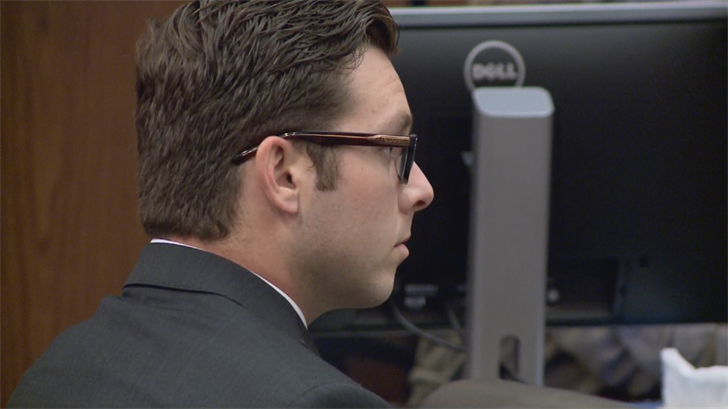 A jury will resume deliberations on Wednesday in the murder trial of an ex-Mesa police officer. (Source: Pool)