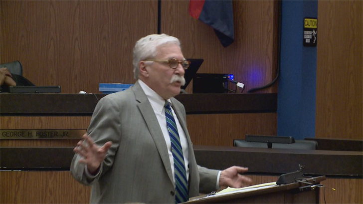 Closing arguments concluded Wednesday afternoon and jurors got updated instructions from the judge. (Source: Pool)
