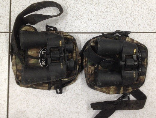 They also found two Nikon binoculars. (Source: U.S. Customs and Border Protection)