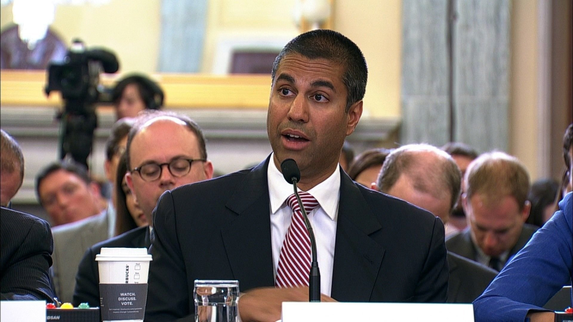 FCC Chairman Ajit Pai was appointed the position in January 2017 by President Trump. (Source: CNN file photo)