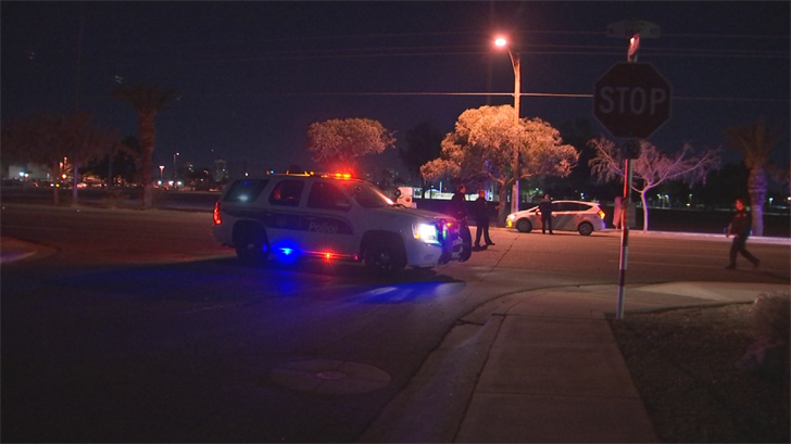 A man was killed by a hit-and-run driver in Phoenix late Thursday night, according to the Phoenix Police Department. (Source: 3TV/CBS 5)