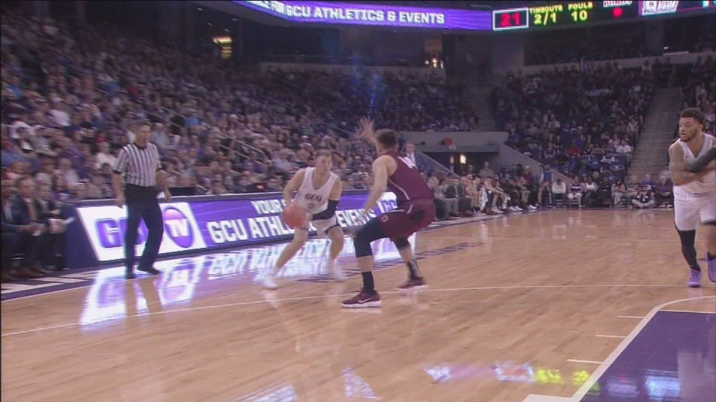 Grand Canyon University basketball player Joshua Braun (Source: 3TV/CBS 5)