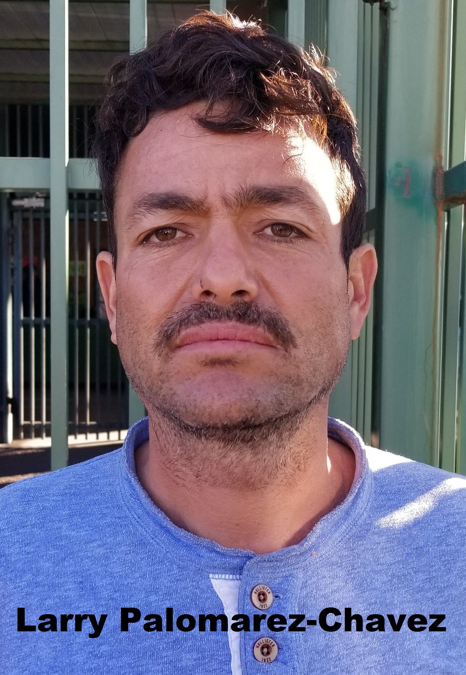 Mug shot of Larry Palomarez-Chavez, 39. (Source: U.S. CBP)