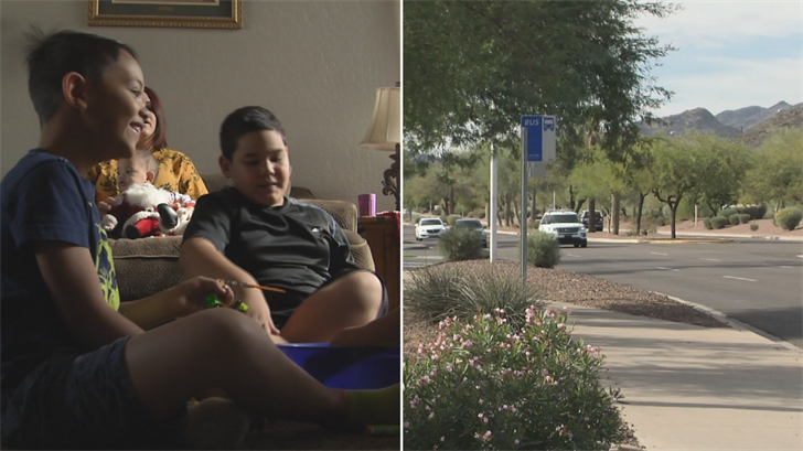Tomasi and Koa told police a strange woman in an SUV offered them candy canes in Ahwatukee. (Source: 3TV/CBS 5)