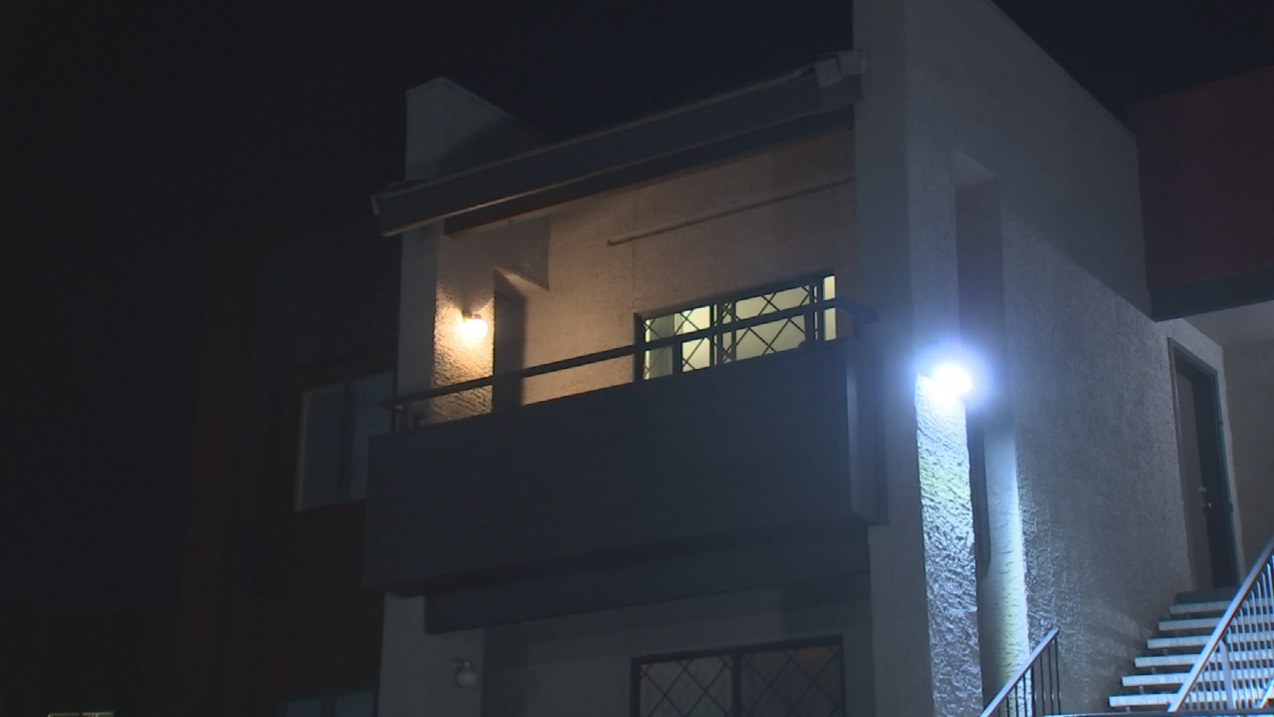 A woman described her encounter with a stranger who climbed into her apartment in Mesa in a 911 call. (Source: 3TV/CBS 5)