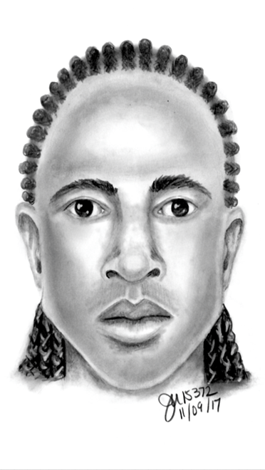 Police have released this sketch of the suspect. (Source: Mesa Police Department)