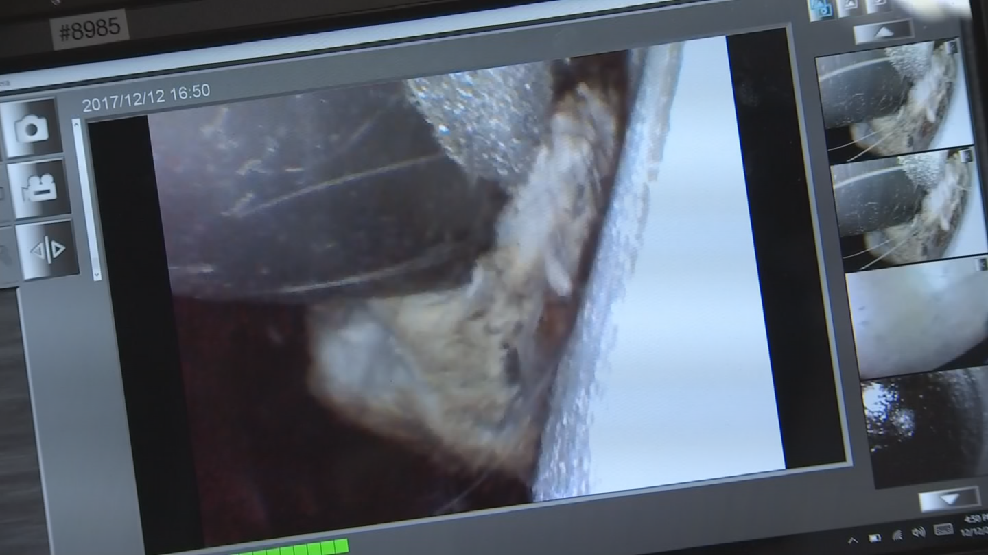 Buried deep inside the dashboard they were able to find the dead rodent with the help of a camera. (Source: 3TV/CBS 5)