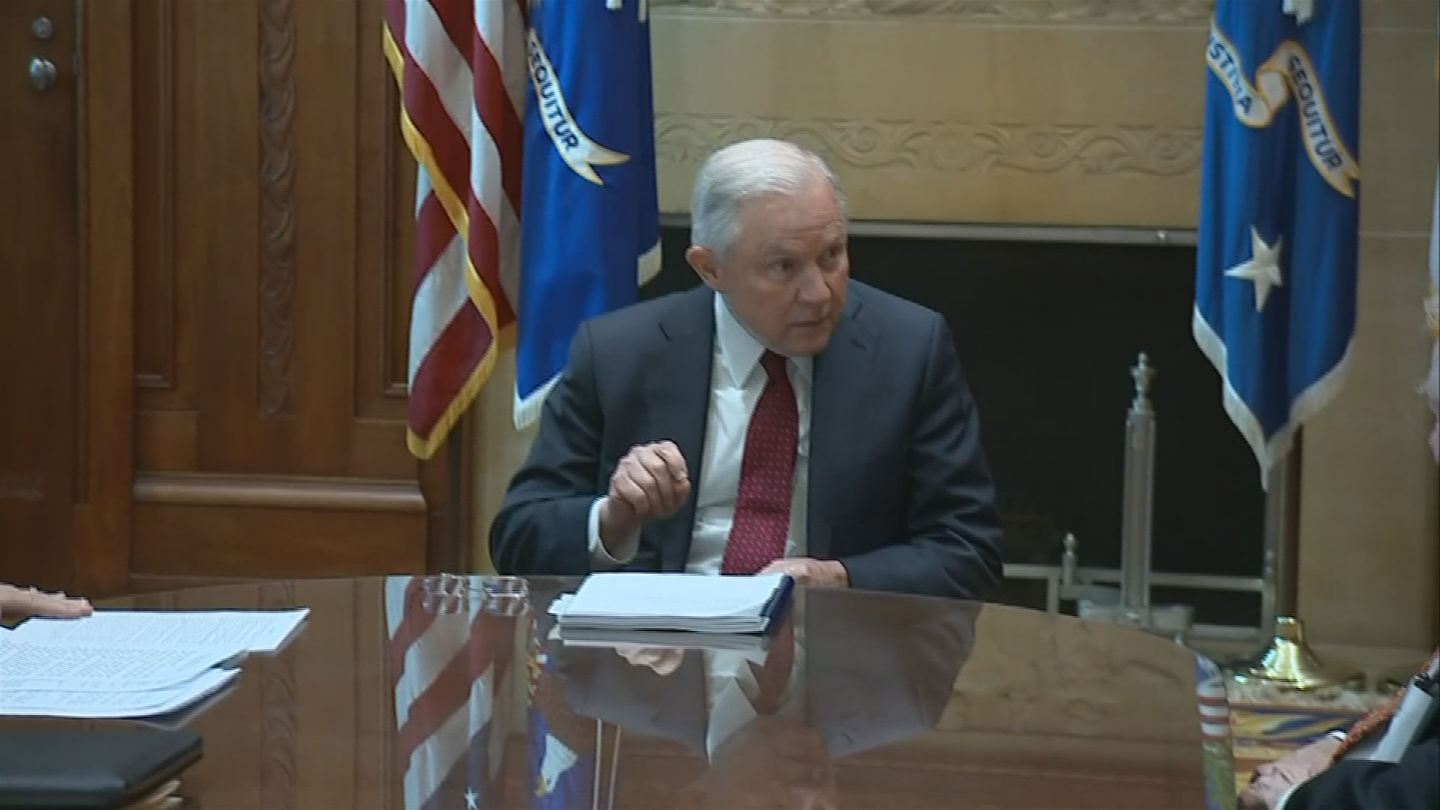 Attorney General Jeff Sessions, an outspoken critic of cannabis, asked Congress to eliminate the Rohrabacher protections in a May letter. (Source: 3TV/CBS 5)
