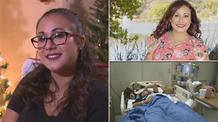 Carissa Galvez has a genetic brain condition but this Friday she'll be graduating college with her nursing degree. (Source: 3TV/CBS 5)