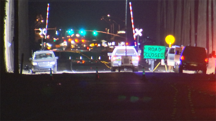 A motorcyclist suffered serious injuries after rear-ending a minivan in El Mirage. (Source: 3TV/CBS 5)
