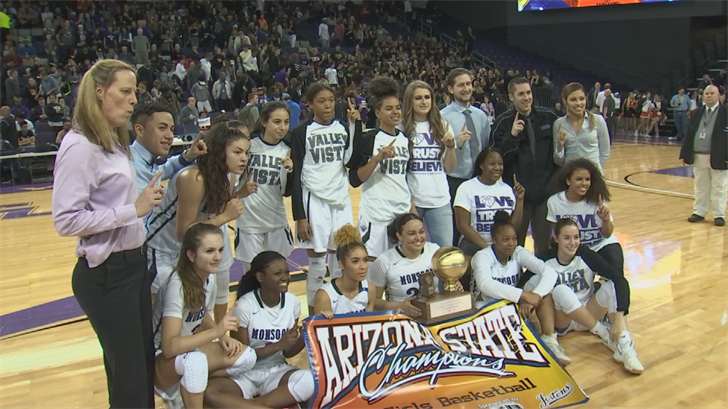 Chavez led the Valley Vista's Monsoonto the 6A title last year averaging 20 points a game. (Source: 3TV/CBS 5)