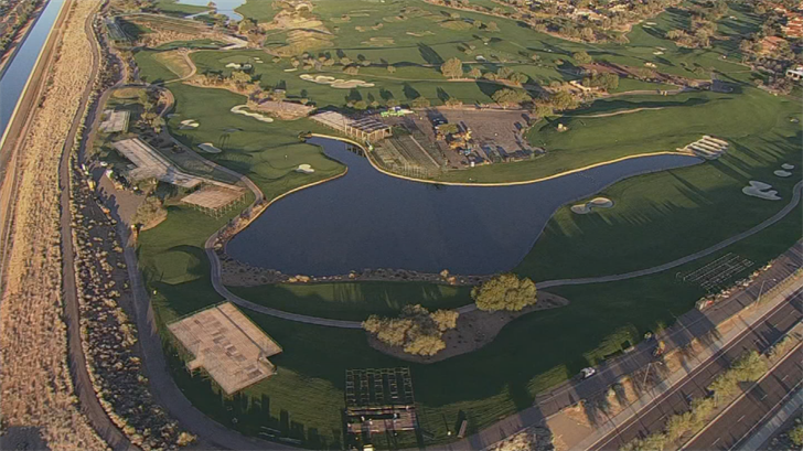 The Thunderbirds now have 50 suites and have added bleachers to 17 to the TPC Scottsdale, with seating now tee to green. (Source: 3TV/CBS 5)