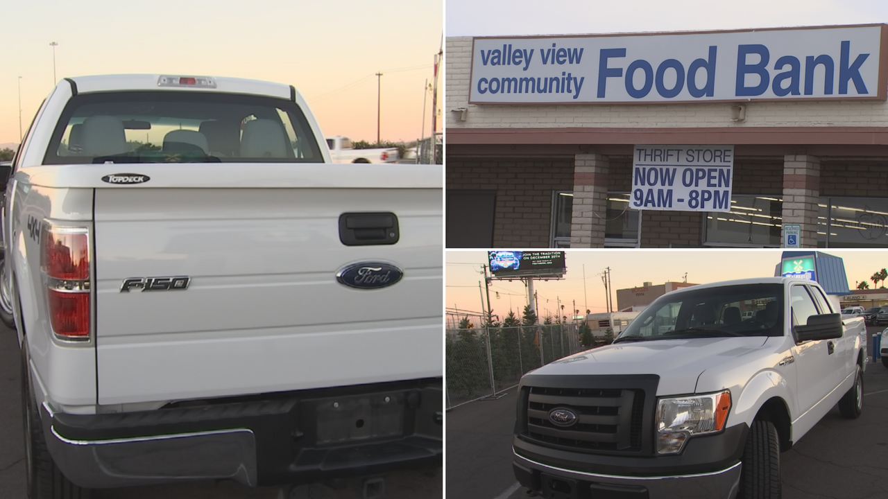 A 2012 Ford F-150 truck was donated to El Mirage-based Valley View Community Food Bank. (Source: 3TV/CBS 5)