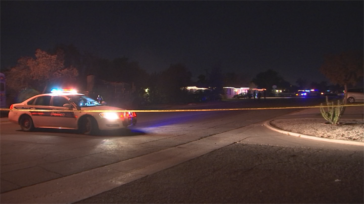 A 19-year-old male was robbed and shot in a Phoenix neighborhood late Wednesday night. (Source: 3TV/CBS 5)