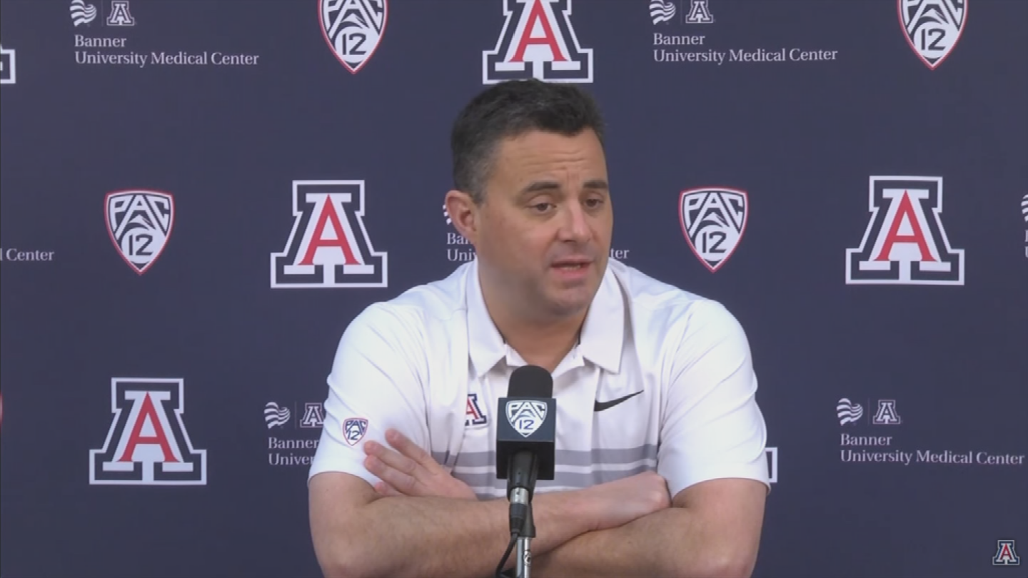 """I think the days of cheering against a Pac-12 opponent ended many years ago,"" said Sean Miller. (Source: 3TV/CBS 5)"