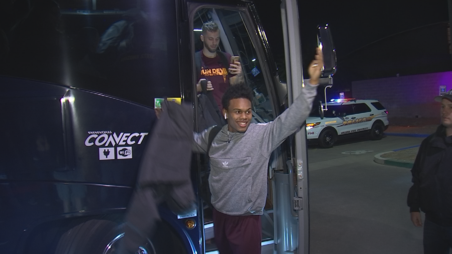 "The Sun Devils have adopted the nickname, ""Guard U,"" and even made shirts. (Source: 3TV/CBS 5)"