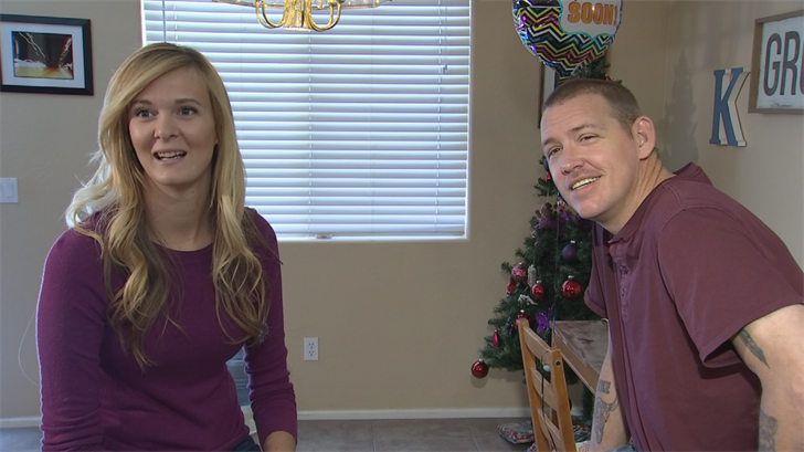 A San Tan Valley man received a much-needed kidney in a three-way swap where his wife donated to a stranger. (Source: 3TV/CBS 5)