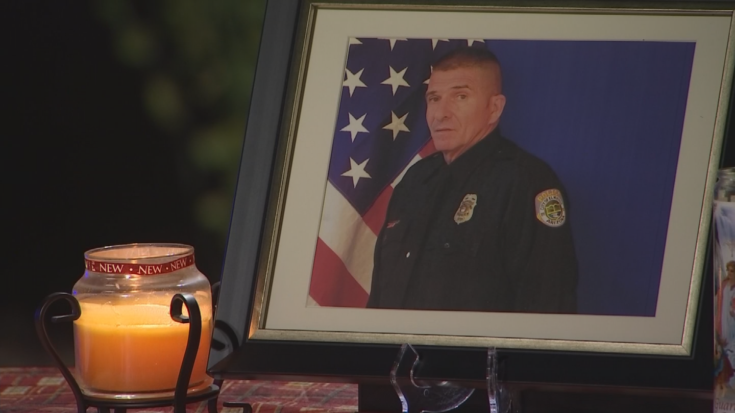Ofc. Paul Lazinsky was months from retirement. (Source: 3TV/CBS 5)