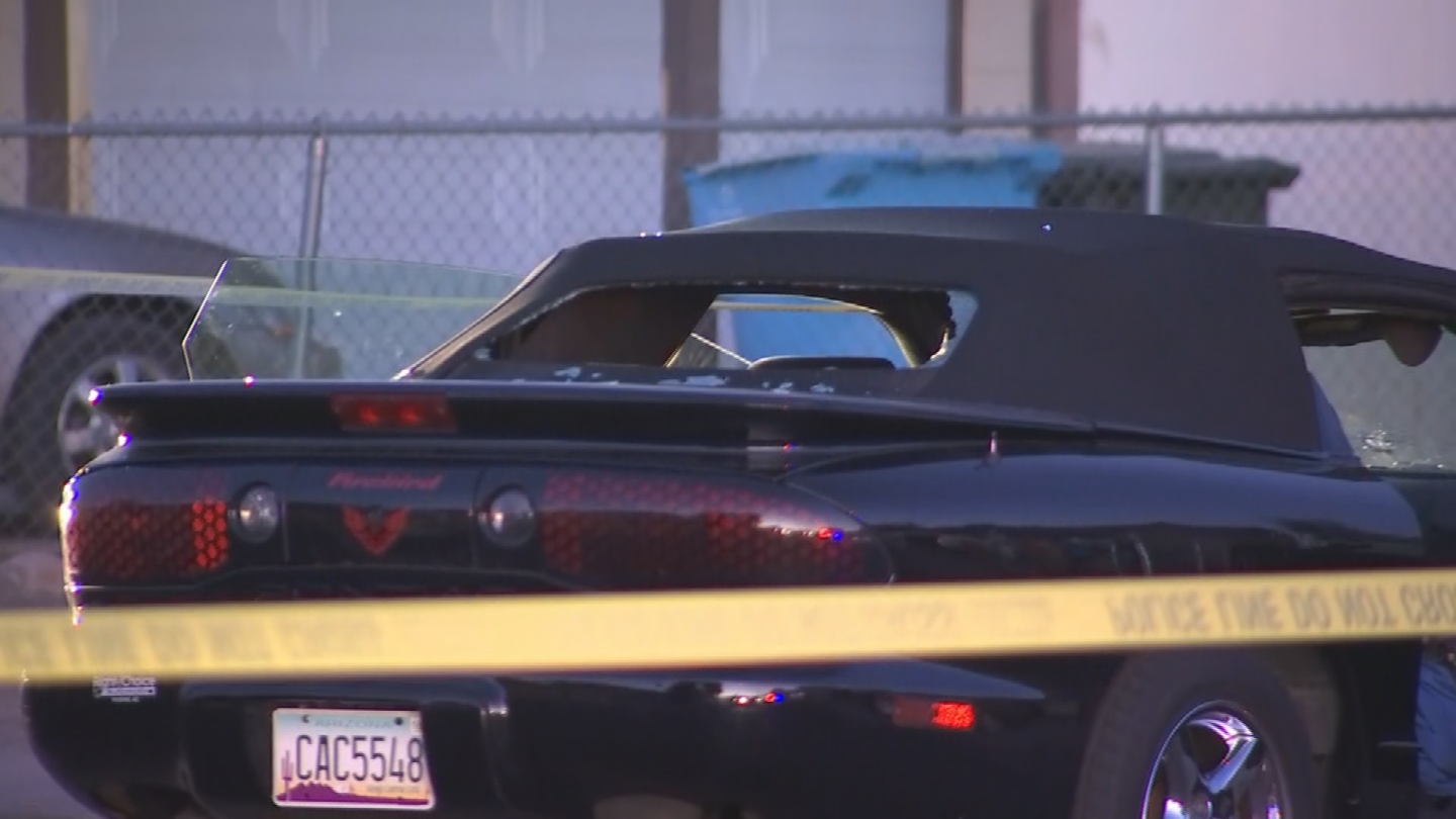 The shooting occurred just before 6:30 a.m. near 69th Avenue and Thomas Road. (Source: 3TV/CBS 5)