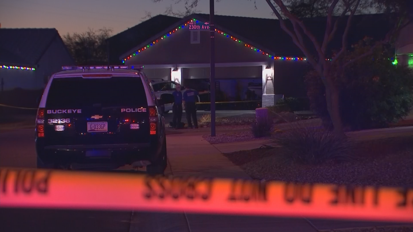 A 2-year-old boy was shot and killed in Buckeye on Friday evening. (Source: 3TV/CBS 5)
