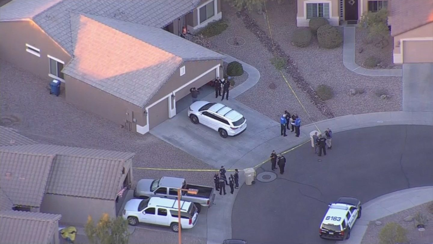 The toddler was dead when paramedics arrived but the 26-year-old was taken to the hospital. (Source: 3TV/CBS 5)