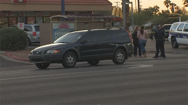 Police said the victim was jaywalking. (Source: 3TV/CBS 5)