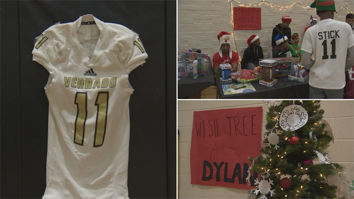 The fundraiser was held on Sunday evening at Verrado High School for 16-year-old Dylan Miller. (Source: 3TV/CBS 5)