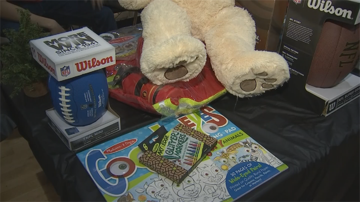 There was also a toy drive for Glendale Mission and Ministry. (Source: 3TV/CBS 5)