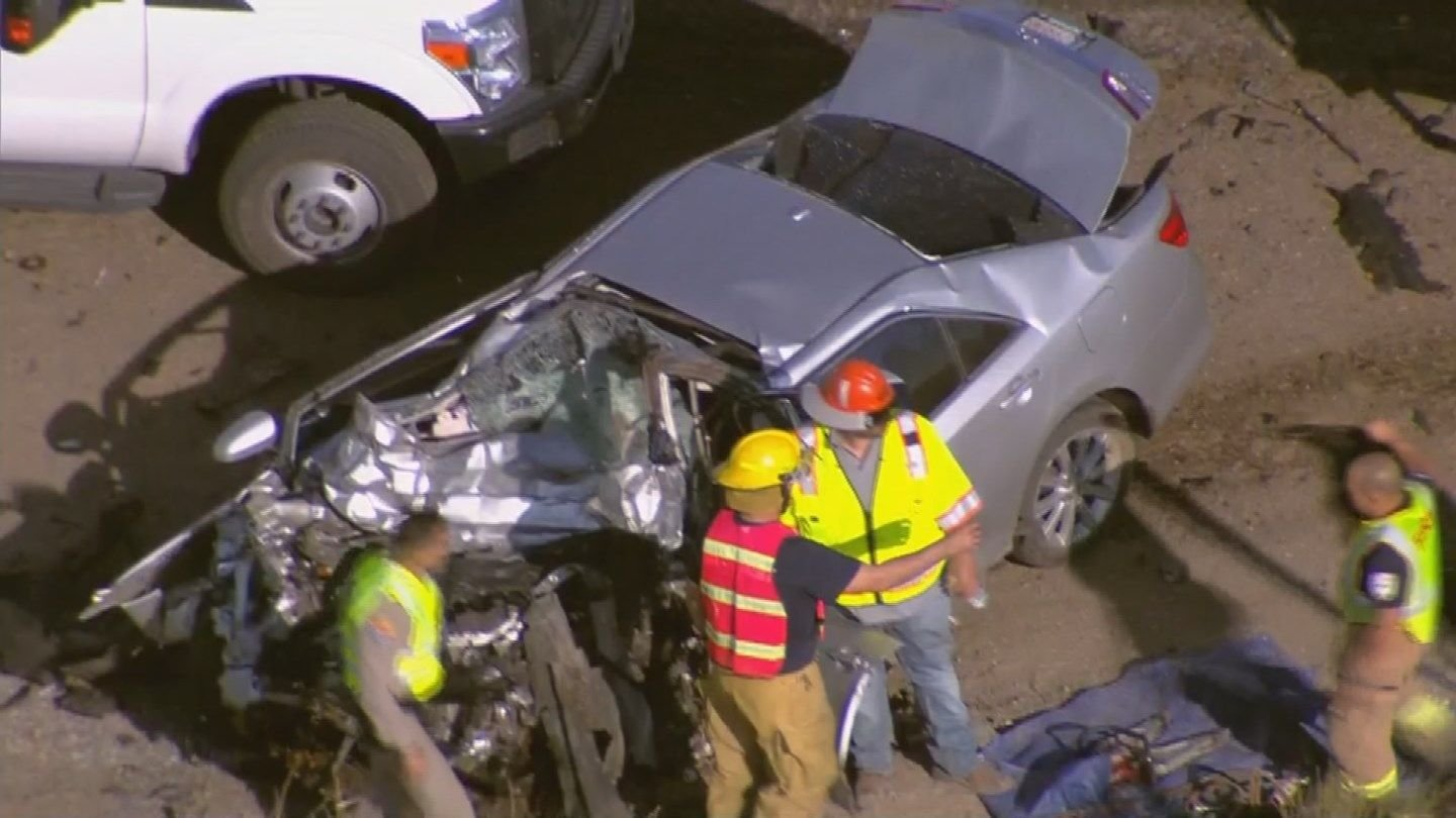 DPS identified the victim of a fatal head-on crash on U.S. 93 near Wickeburg from Thursday. (Source: 3TV/CBS 5)