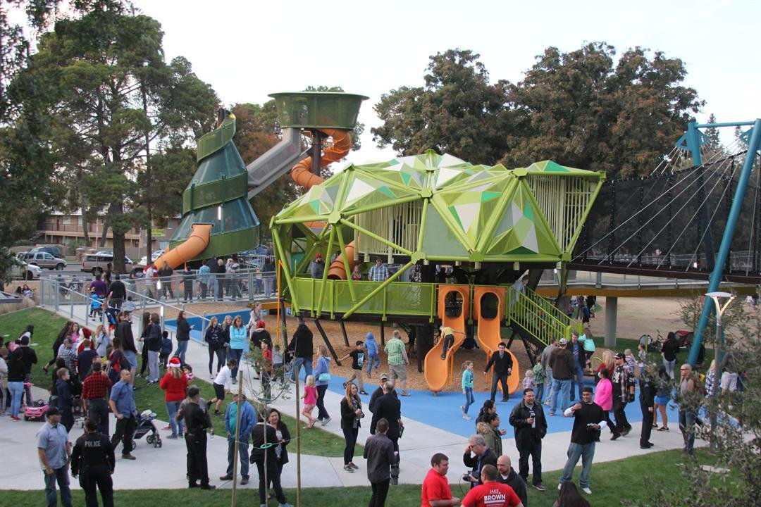 The City of Mesa held a grand opening celebration for the new and improved Pioneer Park after being closed since May. (Source: City of Mesa)