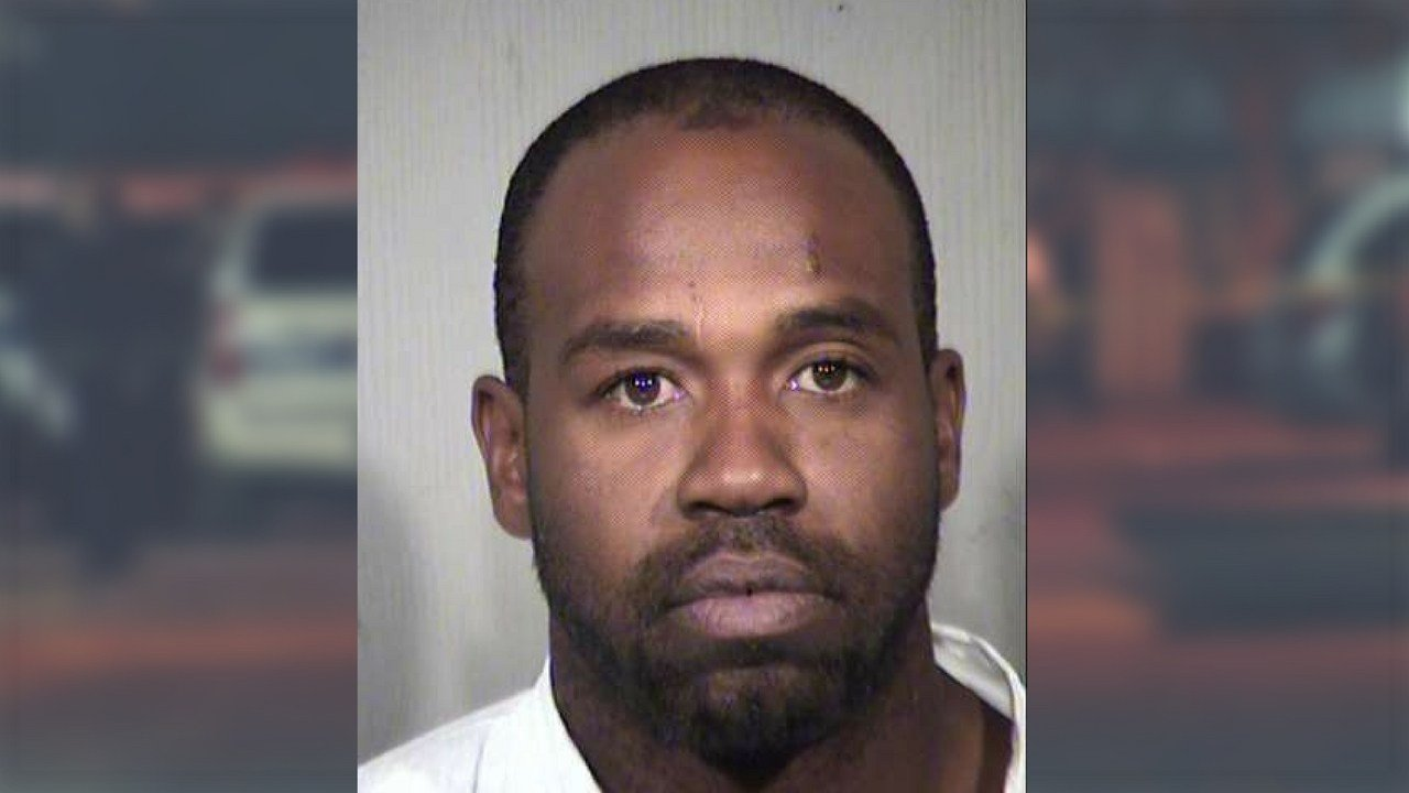Phoenix police have arrested Cleophus Cooksey, 35, following Sunday's deadly double shooting near 12th St and Camelback. (Source: MCSO, 3TV/CBS 5)